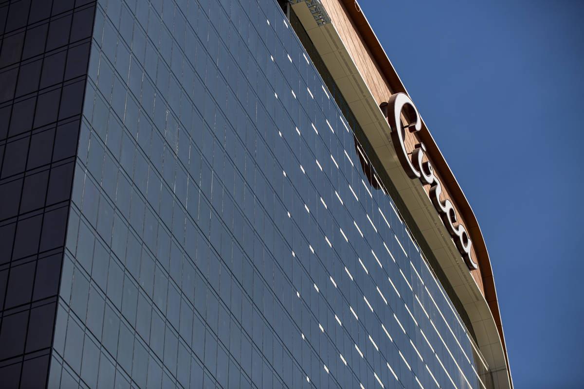 Una vista de Circa, el primer casino construido en el centro de Las Vegas en 40 años el lunes, ...