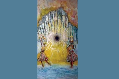 """""""Dreams and Pareidolias"""" se titula la muestra del artista mexicano Rigoberto Cárdenas, que ..."""