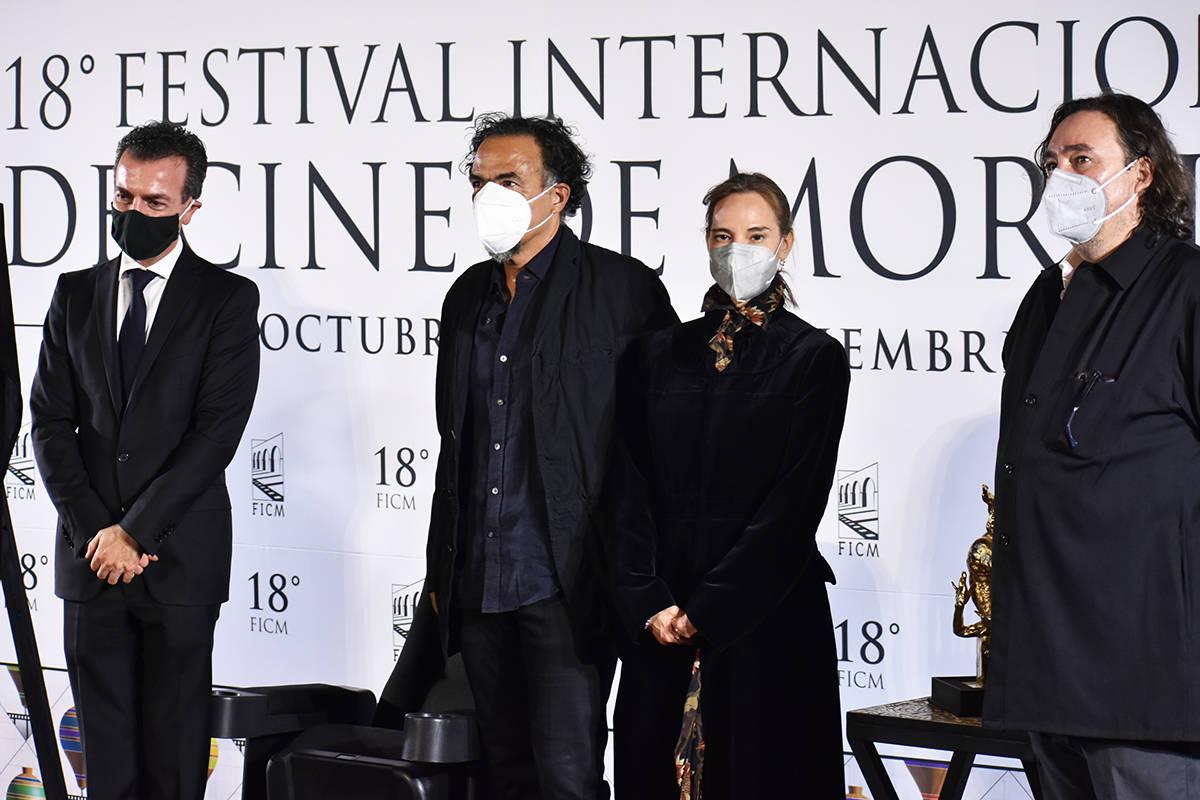 La 18ª edición del Festival Internacional de Cine de Morelia se realizó mediante eventos vir ...