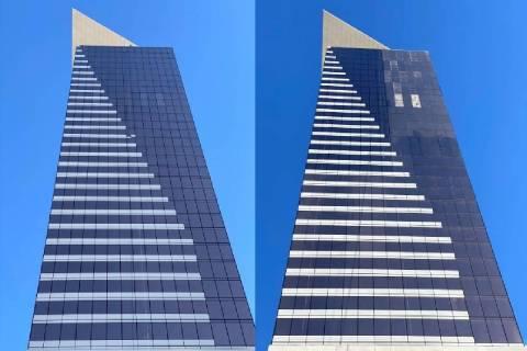 """A la izquierda, el error arquitectónico """"MoDot"""" (un panel de una sola ventana) en Circa en el ..."""