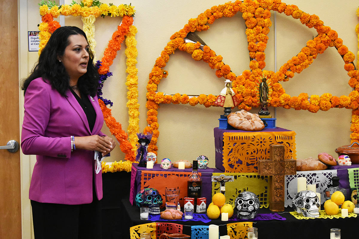 La concejal Olivia Díaz compartió sus recuerdos de la celebración del Día de Muertos en el ...