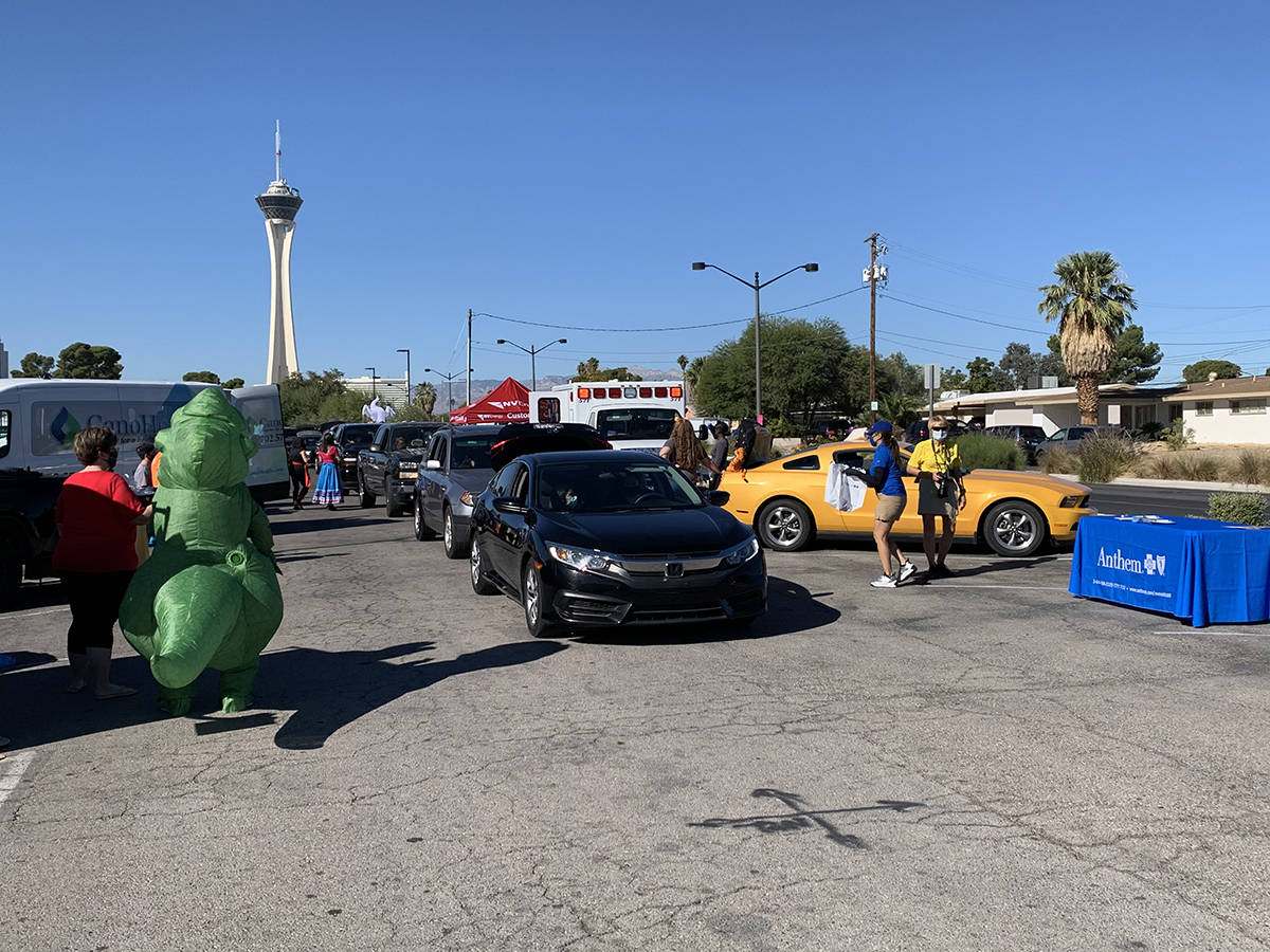 La concejal por el Distrito 3 de Las Vegas, Olivia Díaz, llevó a cabo un evento que unió un ...