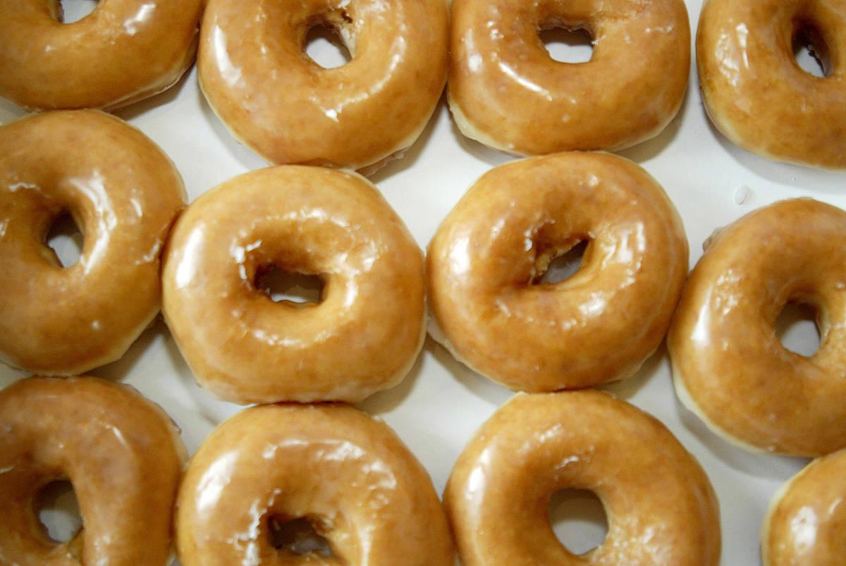 Donas de Krispy Kreme. (Nell Redmond/ Bloomberg News)