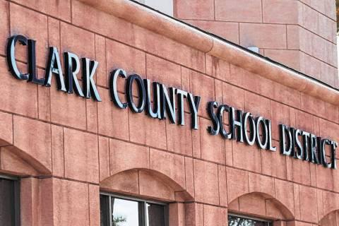 El edificio de administración del Distrito Escolar del Condado Clark (Las Vegas Review-Journal ...