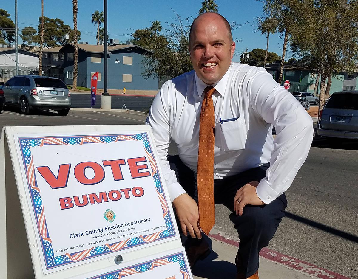 Reynolds explicó que desde el 2010 en Nevada se elige a los jueces por votación. Viernes 30 d ...