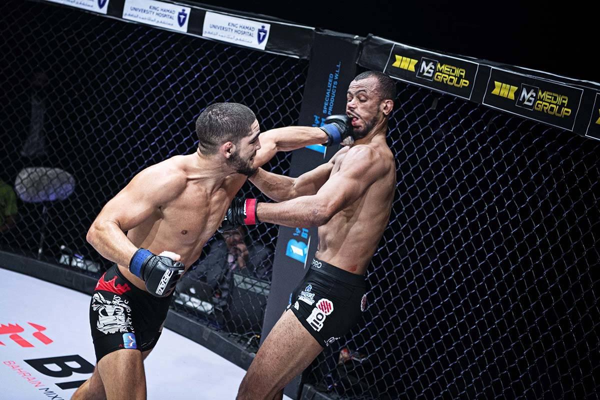 """Amin Ayoub extiende la maldición del cinturón de peso ligero y destrona a """"Predator"""" con ..."""