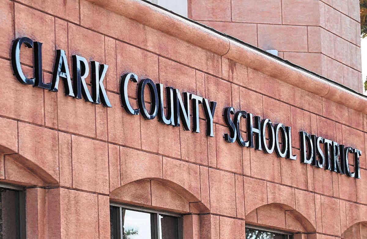 Edificio de administración del Distrito Escolar del Condado Clark (Las Vegas Review-Journal, A ...