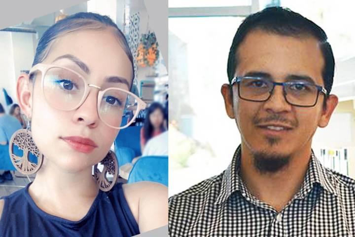 A la izquierda Itzel Hernández (Foto Cortesía); a la derecha, Aarón Luna (Foto El Tiempo). A ...