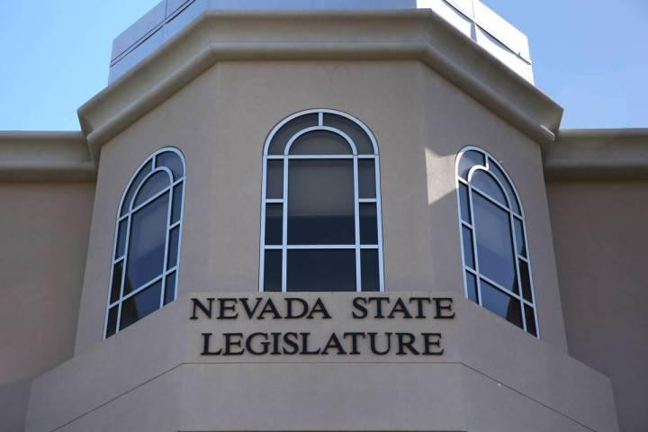 El Edificio Legislativo de Nevada se muestra en Carson City, Nevada, en esta foto de archivo de ...