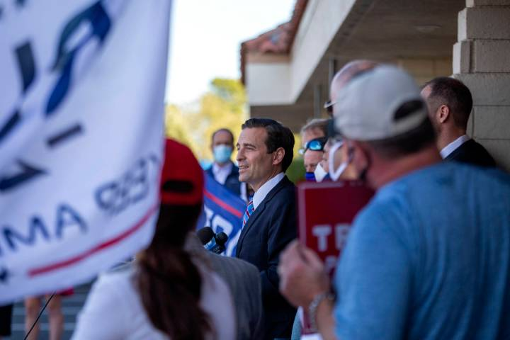 Adam Laxalt, ex fiscal general de Nevada, anuncia una nueva demanda electoral contra el Condado ...