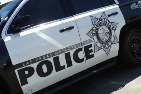 Policía Metropolitana de Las Vegas. [Foto Las Vegas Review-Journal]