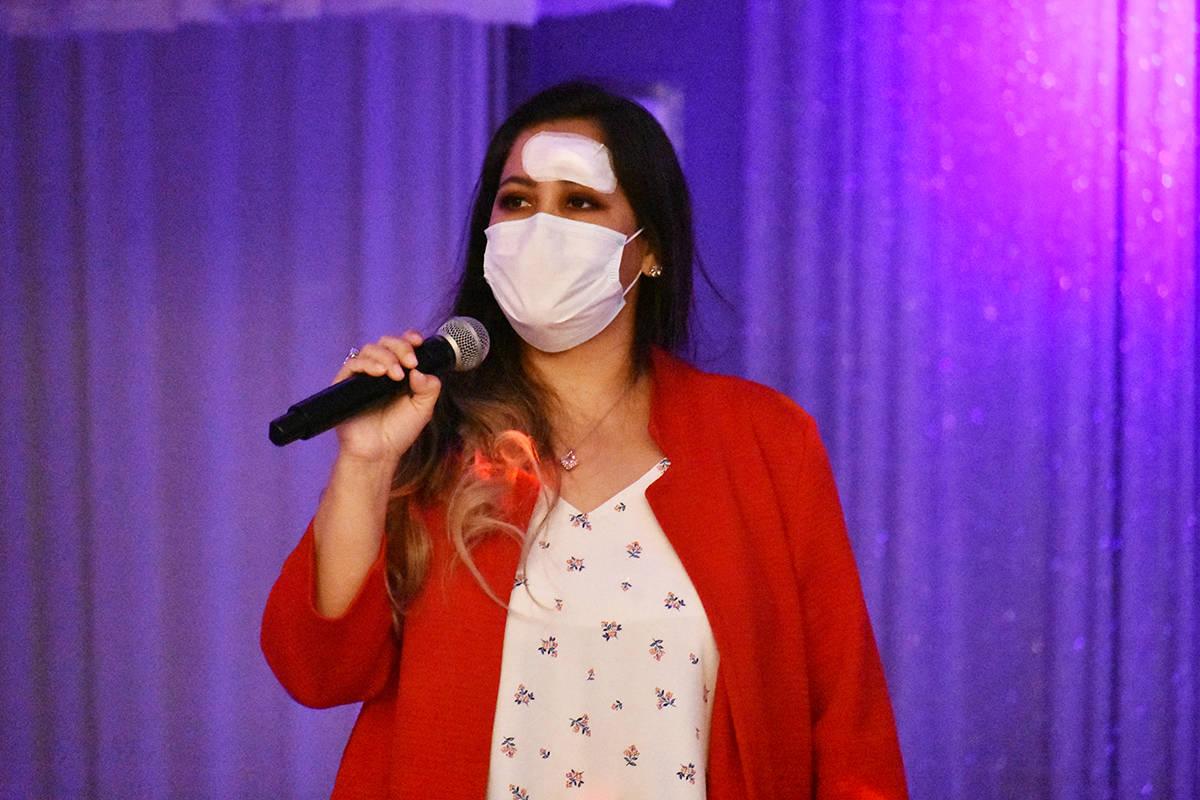La dirigente de la Federación Zacatecanos Silver Plata, Zaida Martínez, destacó la unión de ...