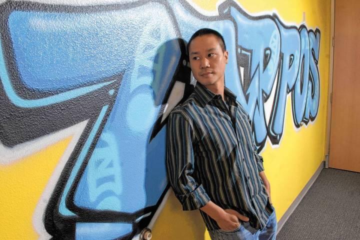En esta foto de archivo del 13 de octubre de 2008, Vegas Young Professionals nombró al CEO de ...