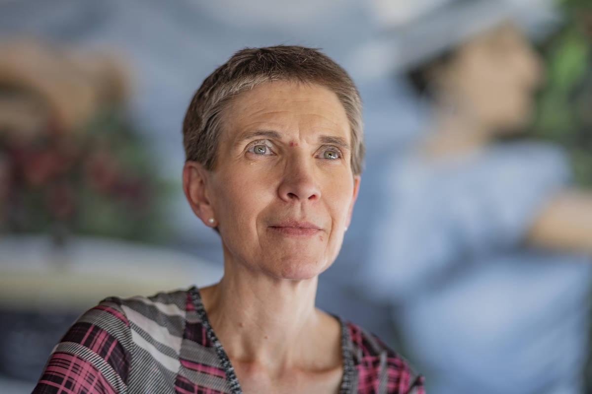 Sondra Cosgrove, profesora de CSN y UNLV y presidenta de la Liga de Mujeres Votantes del Sur de ...