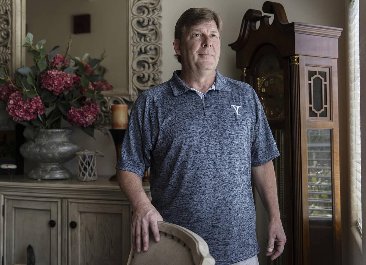 John Beckmann, un anfitrión de casinos despedido, el martes, 4 de agosto de 2020, en Las Vegas.