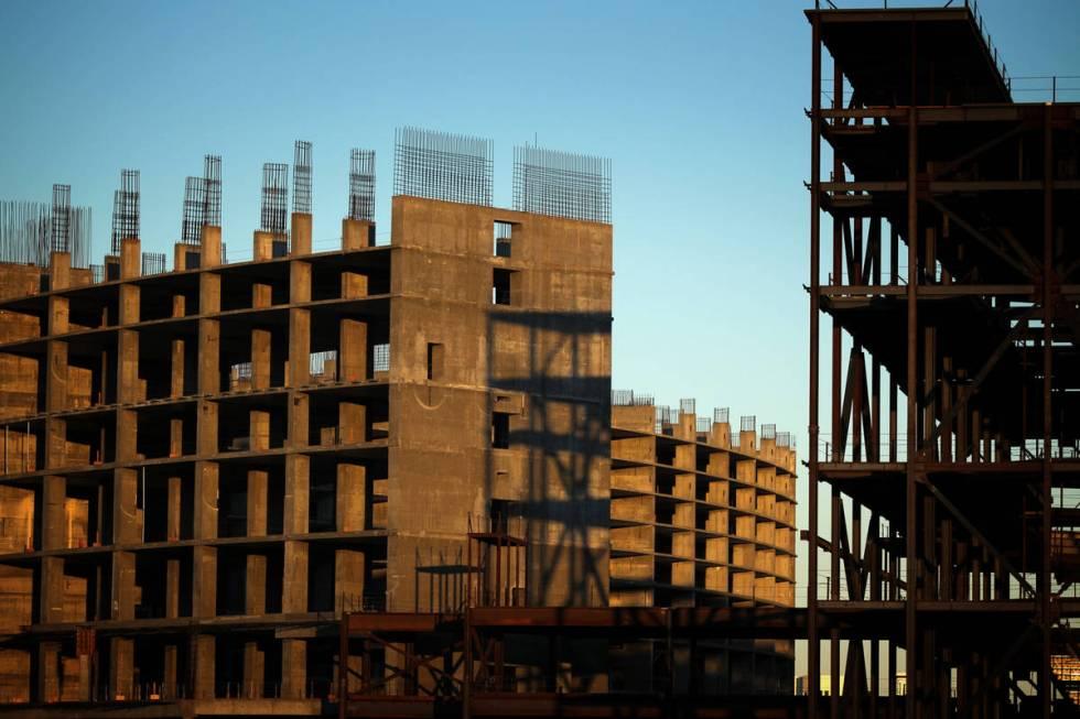 El proyecto Echelon, en el antiguo hotel-casino Stardust, visto el 1º de septiembre de 2011 en ...