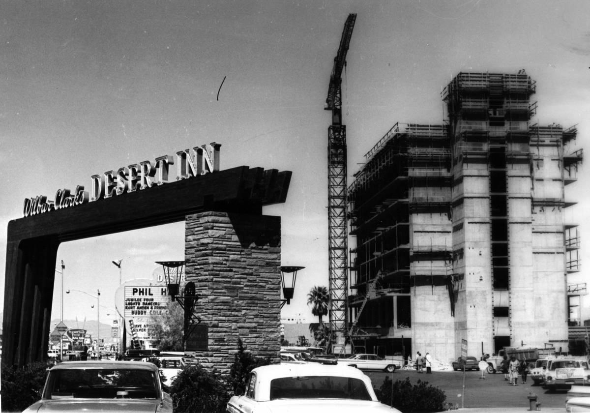Un nuevo rascacielos del Desert Inn en 1963. (Oficina de Noticias de Las Vegas)