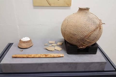 Descubiertos recientemente, hay artefactos que se cree pertenecieron a la comunidad indígena d ...