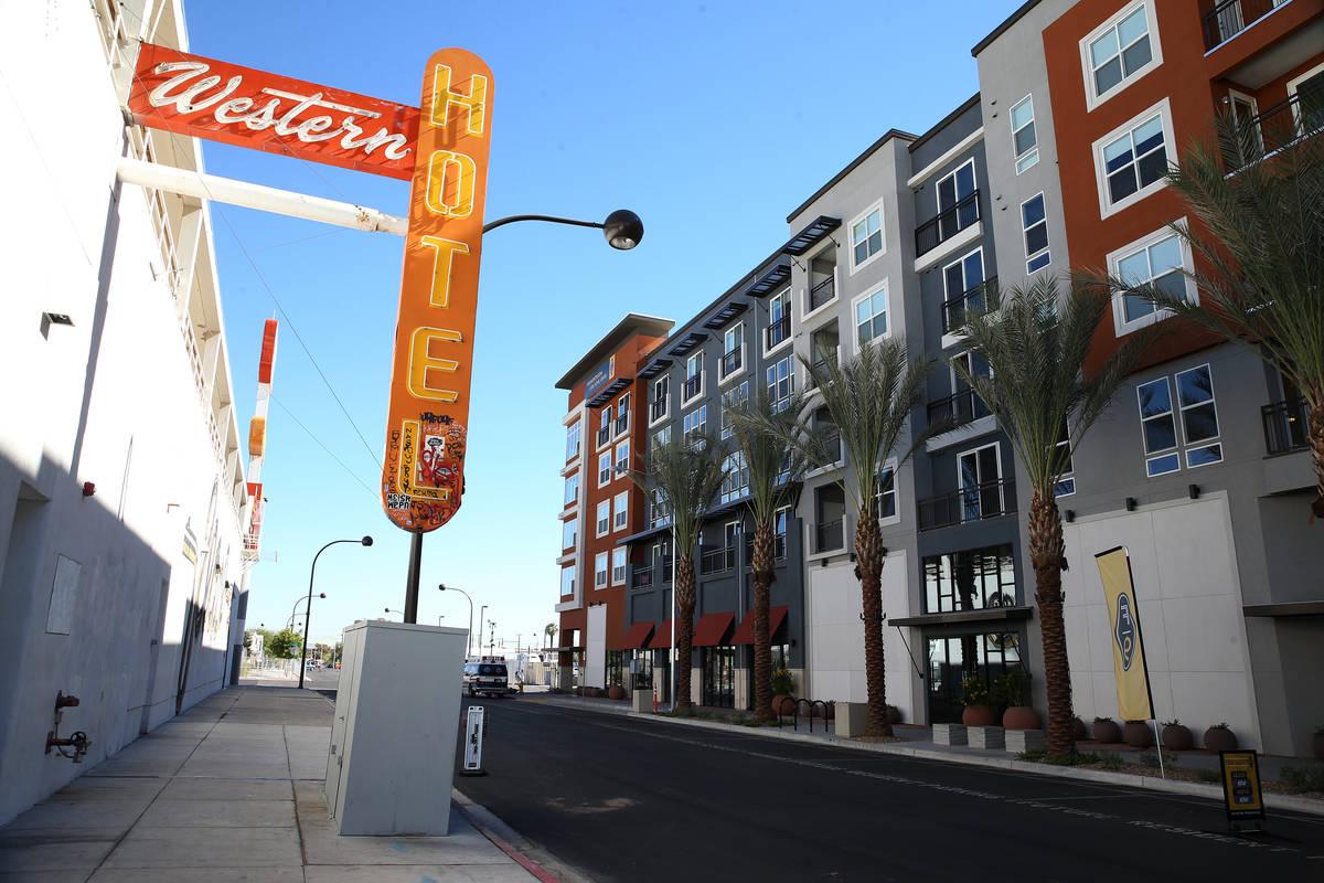 Fremont9, un nuevo complejo de apartamentos en el centro de Las Vegas en Fremont y la calle 9th ...