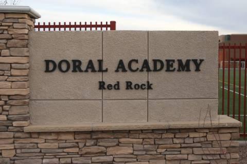 La Escuela Primaria Doral Academy Red Rock el viernes, 28 de febrero de 2020, en Las Vegas. (Bi ...