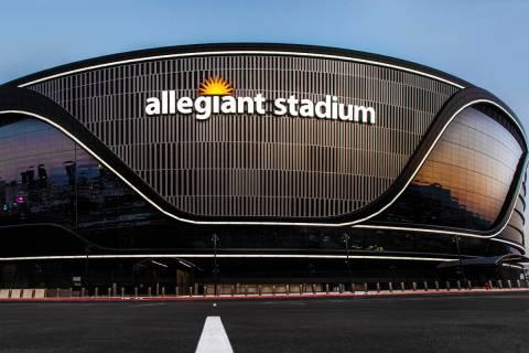 Allegiant Stadium el miércoles, 26 de agosto de 2020, en Las Vegas. (Benjamin Hager/Las Vegas ...