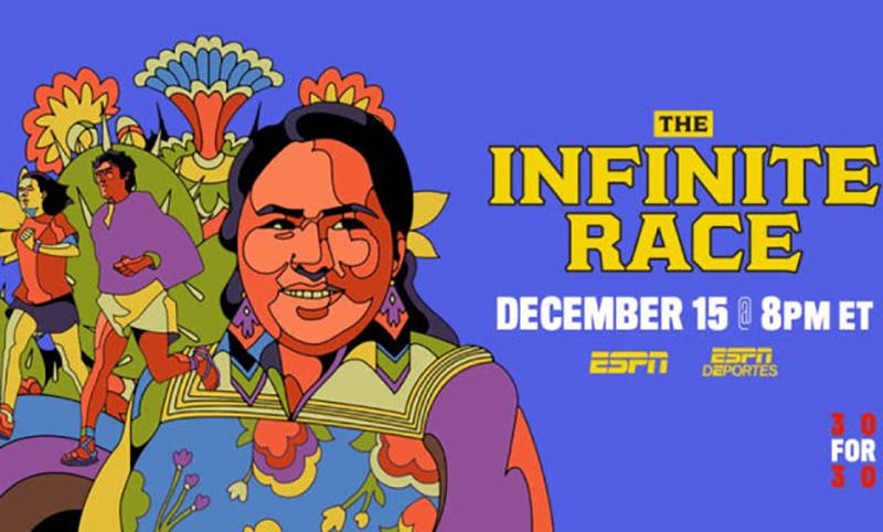 "El documental ""The Infinite Race"" que se estrena el 15 de diciembre, sigue a la comunidad i ..."