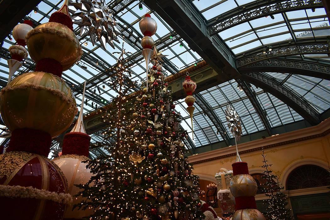 En esta foto de archivo, una de las decoraciones navideñas más atractivas puede encontrarse a ...