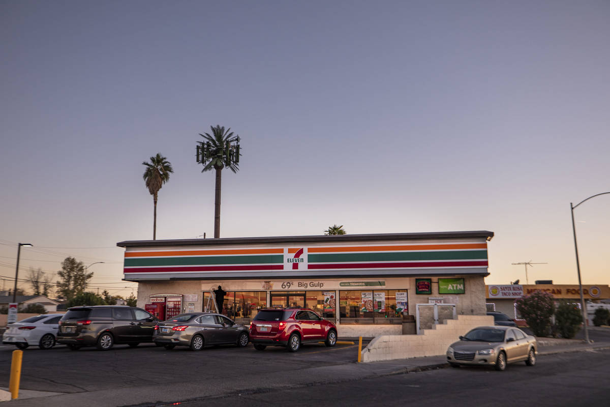 A 7-Eleven on Lake Mead Parkway and Center Street is seen in Henderson on Wednesday, Dec. 2, 20 ...