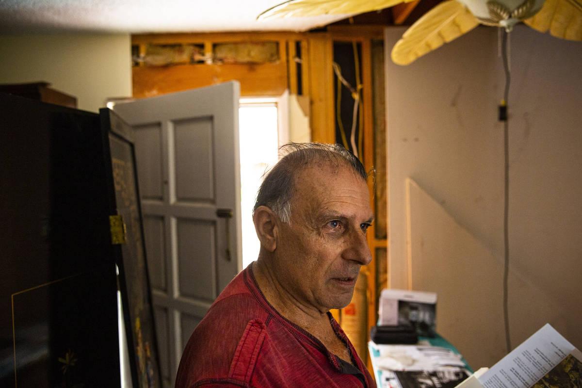 Yehuda Sharon, un testigo en el caso de asesinato de Margaret Rudin, habla de cómo su casa fue ...