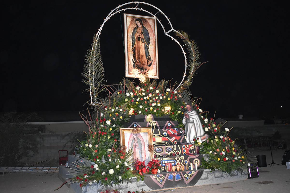 Con bailables y cantos, hispanos del sur de Nevada conmemoraron el Día de la Virgen de Guadalu ...