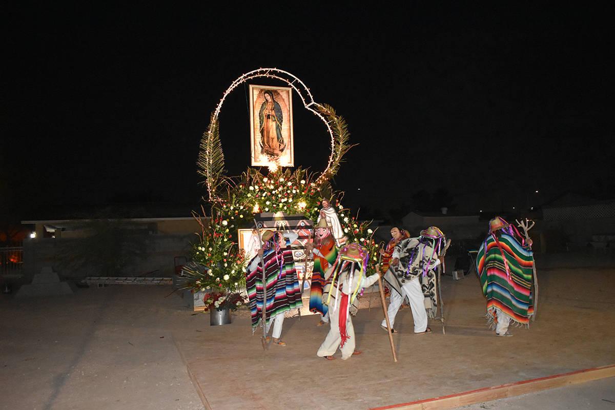 Grupos locales se unieron para organizar un evento de tres días como homenaje a la Virgen de G ...