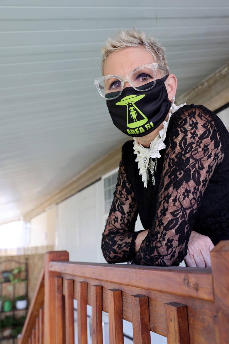 Susan Marsian-Bolduc en su casa de Las Vegas el jueves, 3 de diciembre de 2020. Marsian-Bolduc ...