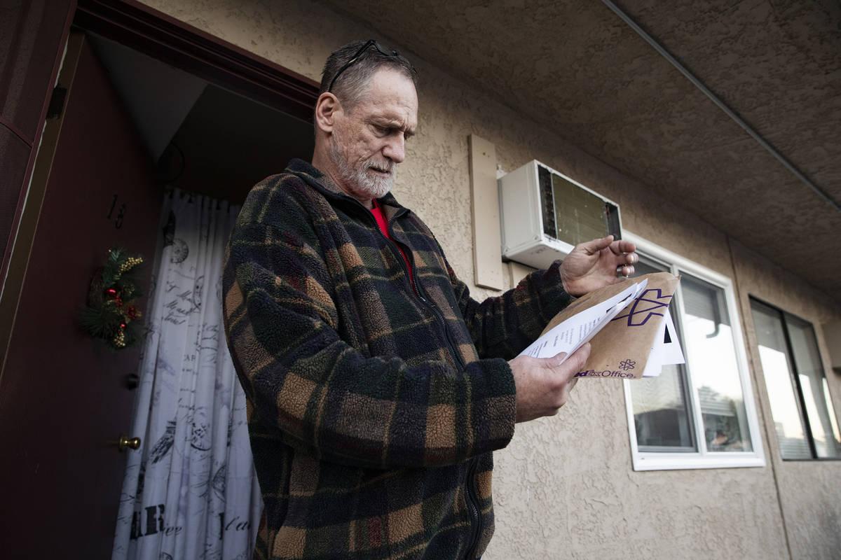 Thomas Elgas habla con el Review-Journal sobre sus tratos con el DETR de Nevada fuera de su cas ...
