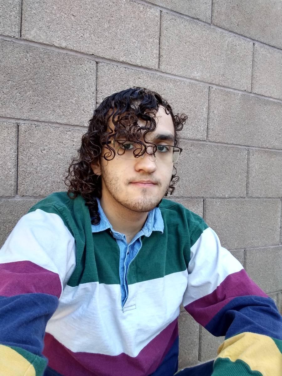 Sebastian Ajir es un senador estudiantil de College of Southern Nevada en el campus de North La ...