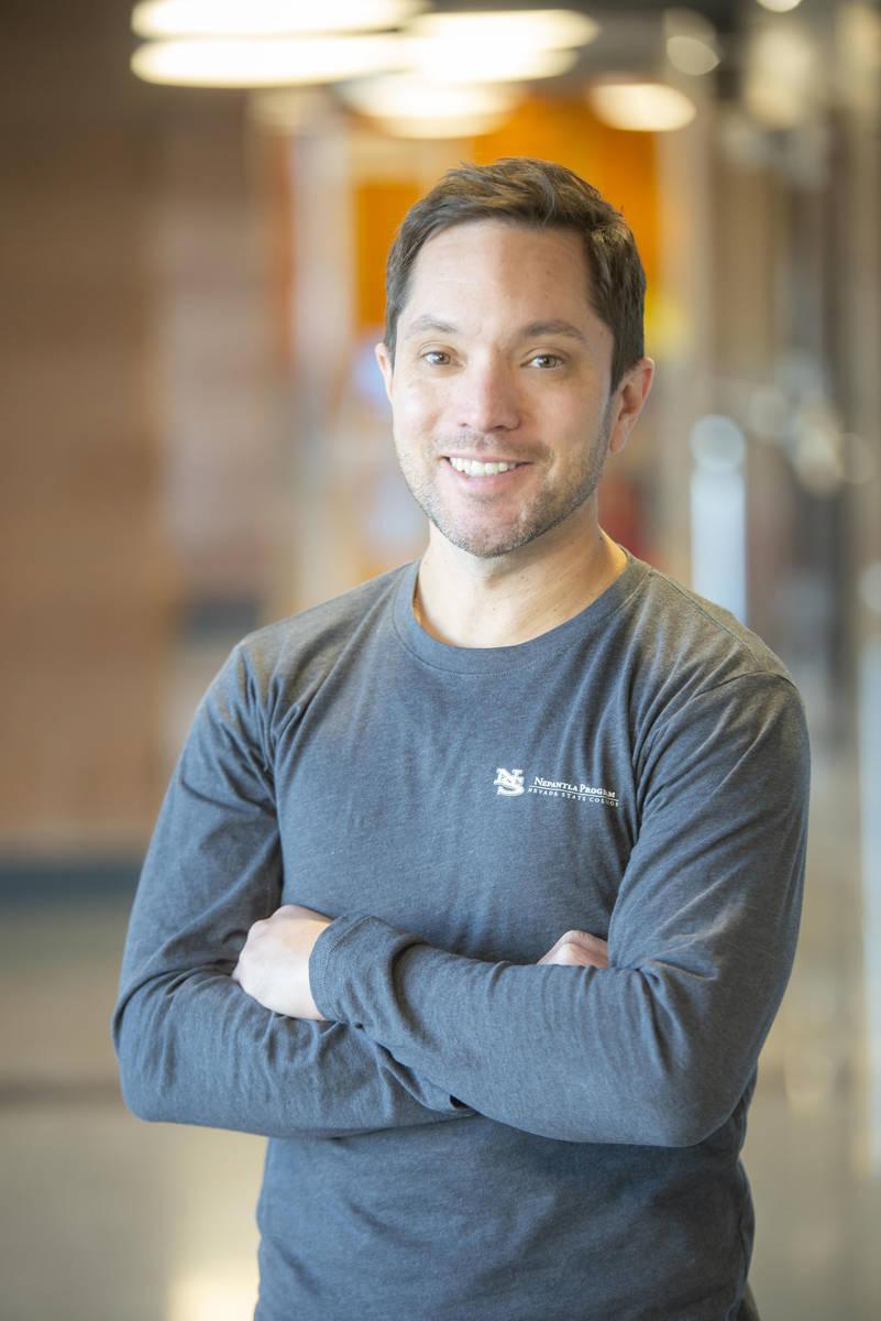 Tony Scinta es viceprocurador ejecutivo de Nevada State College. (Tony Scinta)