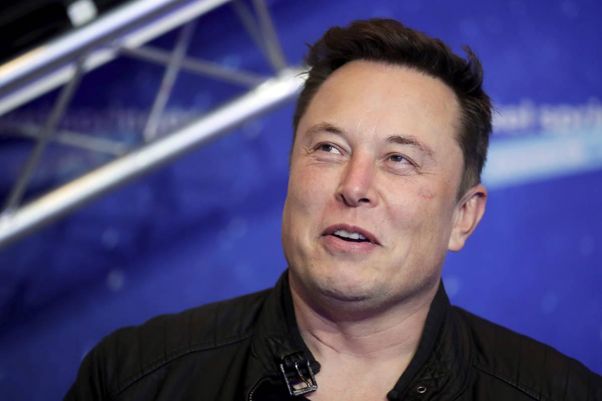 En esta foto de archivo del 1º de diciembre de 2020, el propietario de SpaceX y director ejecu ...