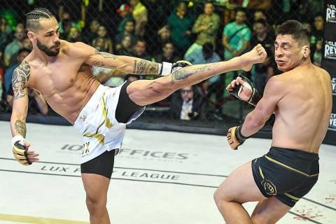 Lux Fight League anunció sus planes de llegar al mercado sudamericano en 2021. [Foto Cortesía ...