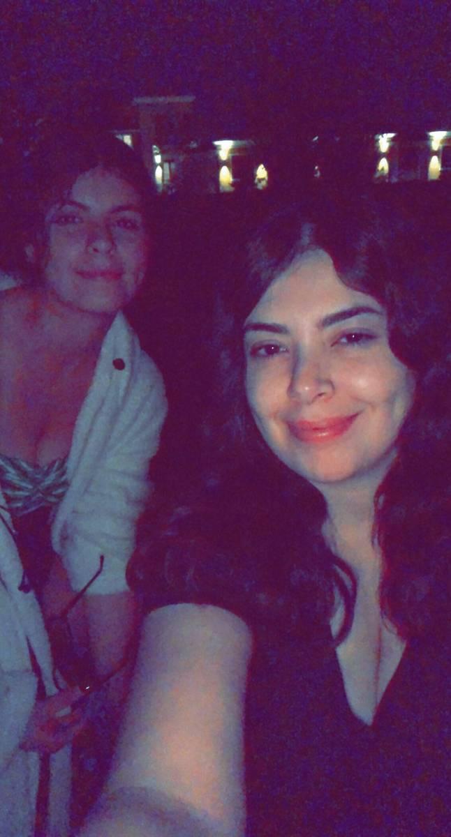 Miriam (izquierda) y Jawaher Hejji. (Cortesía de Miriam Hejji)