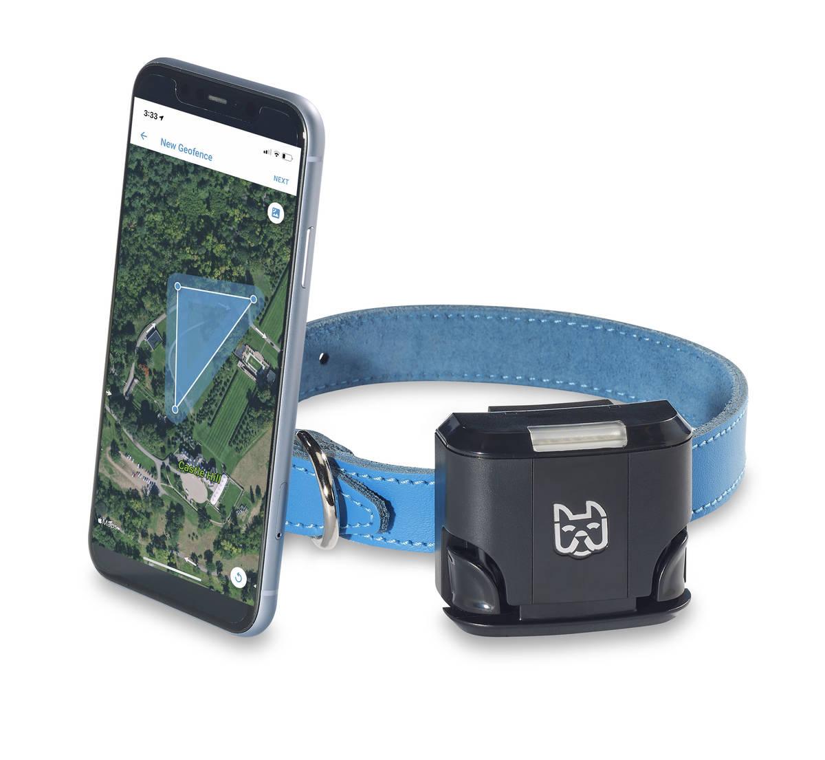 El Wagz Freedom Smart Dog Collar te permite establecer límites con una aplicación. (Wagz)