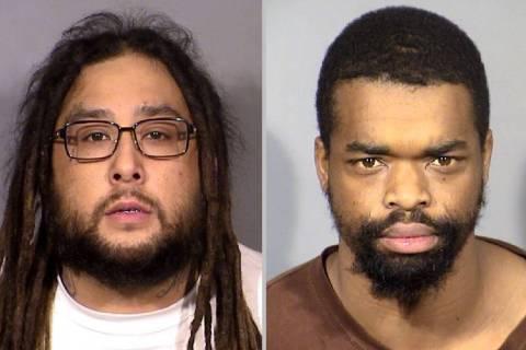 Antonio Ricardo Cruz, izquierda, y Melvin McHenry. (LVMPD)