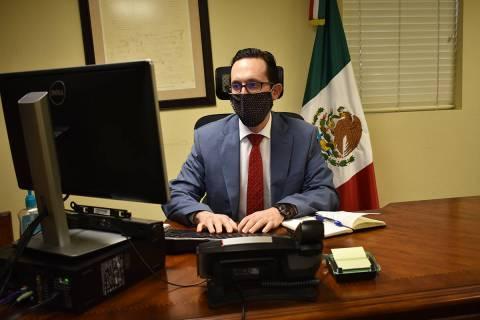 El cónsul de México, Julián Escutia, otorgó una entrevista a este medio de comunicación pa ...