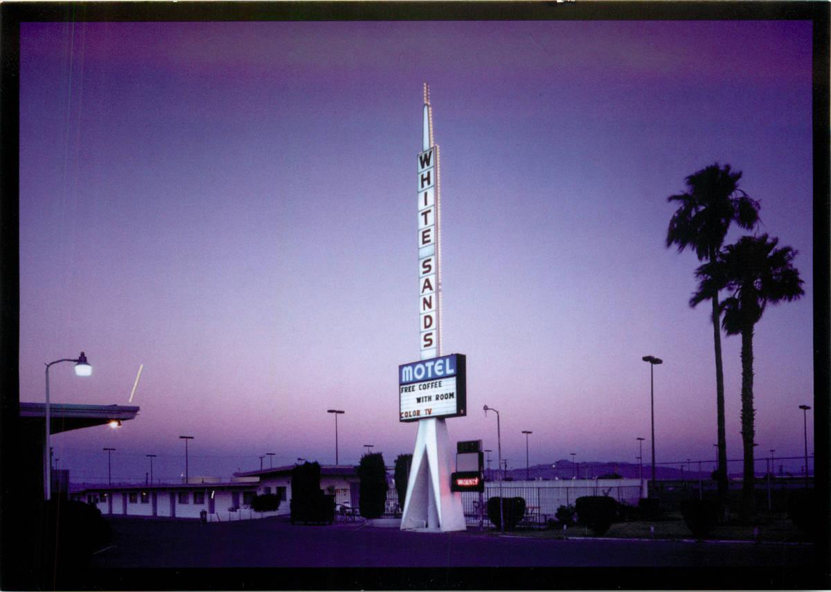 White Sands Motel en 1998. (Archivo del Las Vegas Review-Journal)