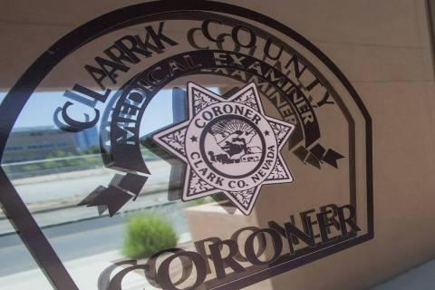 La oficina forense del Condado Clark, en 1704 de Pinto Lane en Las Vegas. (Foto de archivo del ...