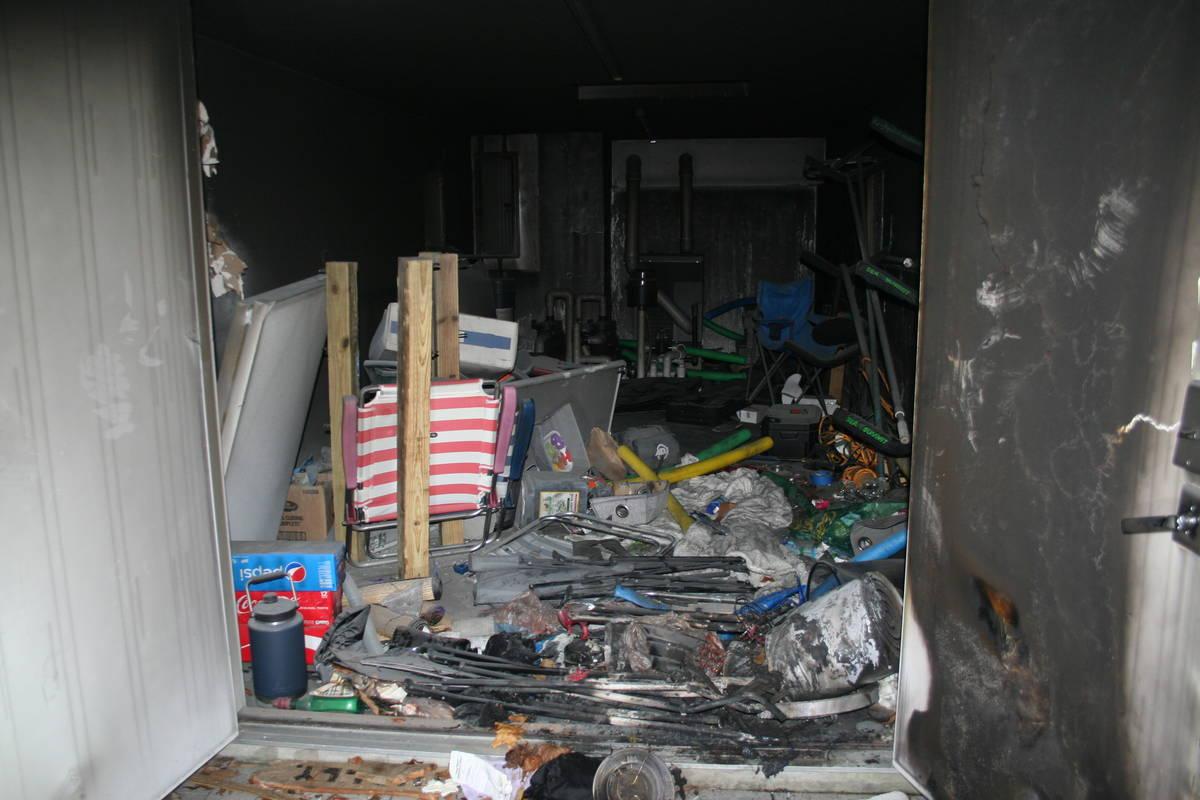 El escenario del incendio de la casa en New London, Connecticut, que finalmente provocó la mue ...