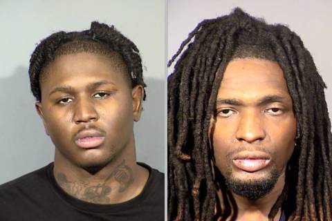 Chey Rose, izquierda, y Lawrence Warfield (LVMPD).