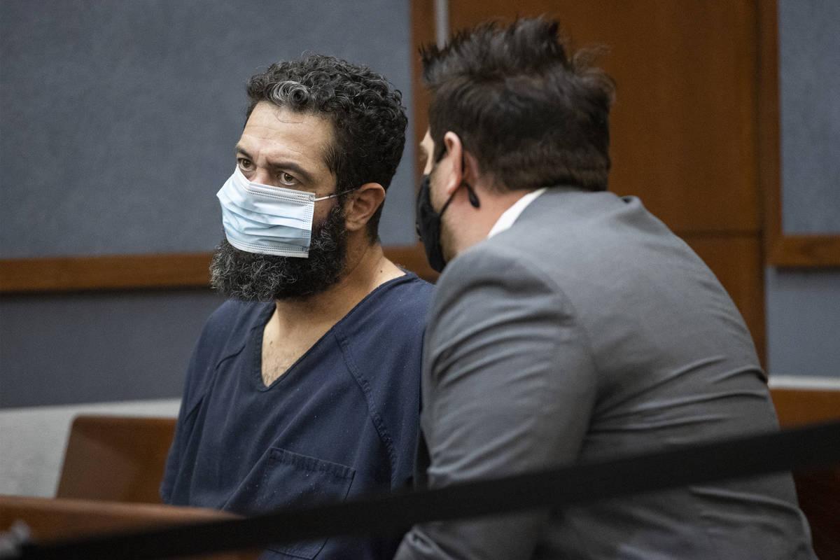 Jordan Barson, a la izquierda, acusado de conducir bajo la influencia de sustancias en un accid ...