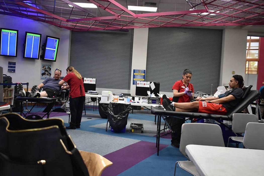 La Cruz Roja Americana ha realizado distintas jornadas de donación en todas las ciudades del S ...