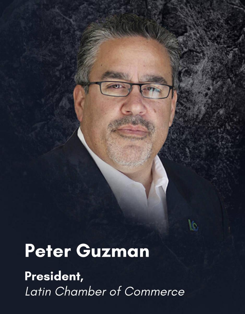 Presidente de la Cámara Latina de Comercio, Peter Guzmán. [Foto Cortesía]
