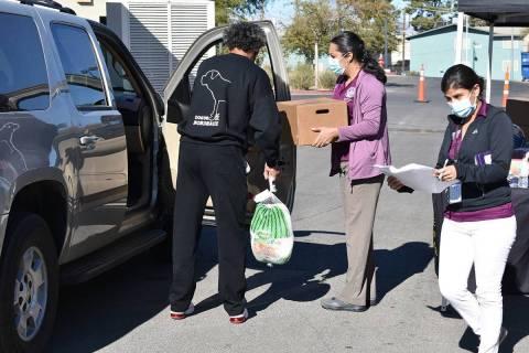 En esta foto de archivo, la oficina de la concejal por el Distrito 3 de Las Vegas, Olivia Díaz ...