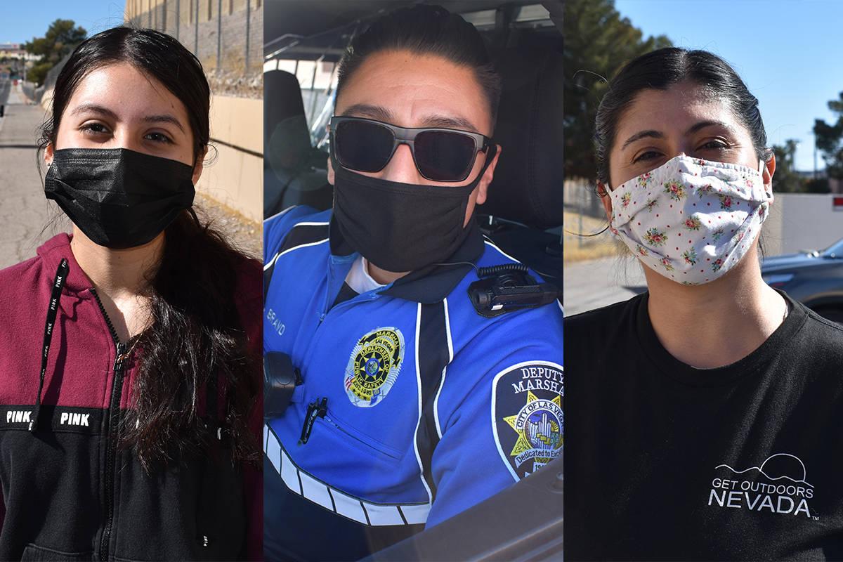 De izquierda a derecha, Alexa Del Real, José Bravo y Almendra Johnson, compartieron su opinió ...